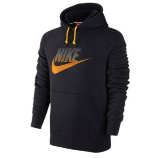 Nike AW77 Futura Fleece Hoodie   Mens   Casual   Clothing   Team Red/Bright Crimson