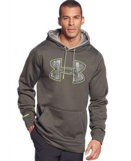 Under Armour Fleece Big Print Logo Hoodie   Hoodies & Sweatshirts