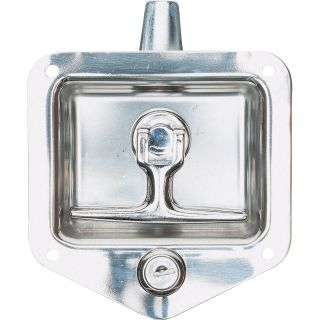 Buyers Folding T Latch — Fits 3 3/4in. x 4in. Thick Doors  Truck Box Accessories