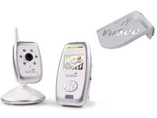 Summer Infant Sure Sight Digital Video Monitor with Universal Baby Monitor Shelf
