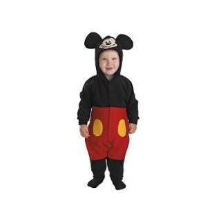 Mickey Mouse Infant Costume   Size 12 18 Months