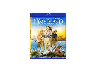 Nim's Island Blu Ray