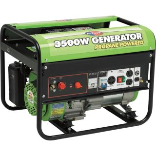 All Power America Portable Propane Generator — 3500 Surge Watts, 2800 Rated Watts, Model# APG3535  Portable Generators
