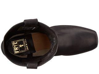 Frye Harness 8R Black Washed Oiled Vintage