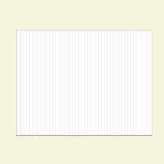 The Hillman Group 14 in. x 18 in. Corrugated Plastic Blank Sign 848891