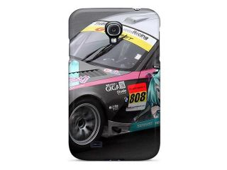 Galaxy S4 Case Cover   Slim Fit Tpu Protector Shock Absorbent Case (bmw Itasha Car)
