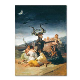Francisco Goya The Witches Sabbath 1797 98 Canvas Art   17569526