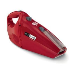 Dirt Devil AccuCharge Cordless Hand Vac BD10045RED