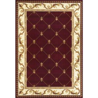 Domani Elegance Red Fleur De Lis (18 x 27)   15685173