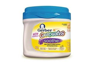 Gerber Graduates Soothe Powder Older Baby and Toddler Formula   22 Ounce