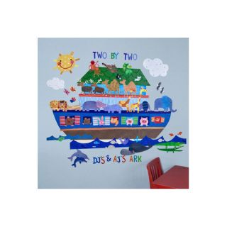 128 Pieces Noahs Ark Peel and Place Wall Decal Set by Oopsy Daisy