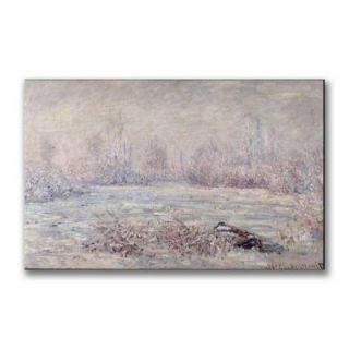 Trademark Fine Art 18 in. x 32 in. Frost Near Vetheuil Canvas Art BL0526 C1832GG