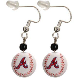 Atlanta Braves Baseball Logo Dangler Earrings