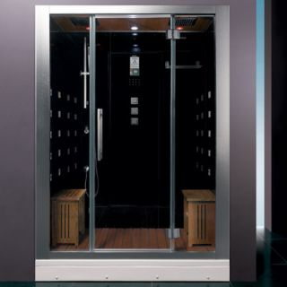 Ariel Bath Platinum 59 x 32 x 87.4 Neo Angle Door Steam Shower