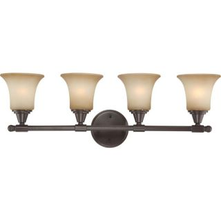 Surrey 3 Light Vintage Bronze Vanity Light