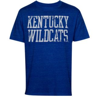 Kentucky Wildcats Straight Out Tri Blend T Shirt   Royal Blue