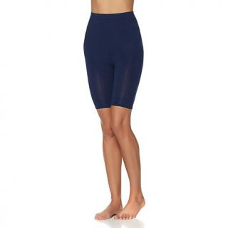 Rhonda Shear Seamless High Waist Cotton Blend Bermuda Short Shaper   8069632