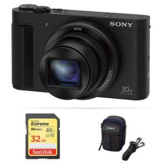 Sony Cyber shot DSC HX80 Digital Camera Basic Kit