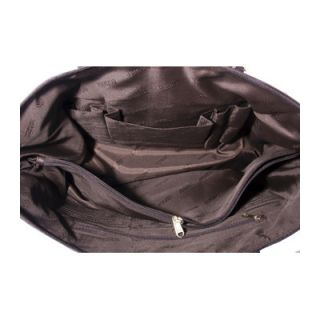 Leatherbay Leather Laptop Case Tote Bag