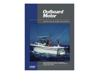Clymer Outboard Motor Service Manual Vol. 2 1969 1989