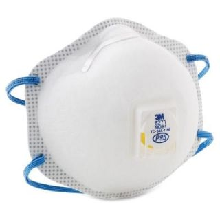 3M Disposable P95 Particulate Respirator (10 per Box) MMM8271