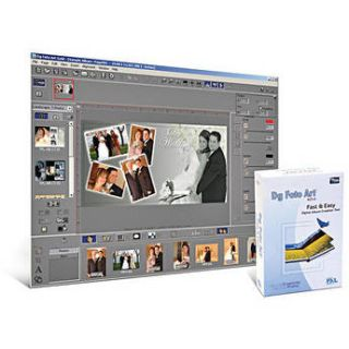 PXL Soft Dg Foto Art Gold Software for Mac and 8906009191218