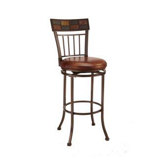 Hillsdale Furniture Montero Copper , Slate Top 24 in Counter Stool