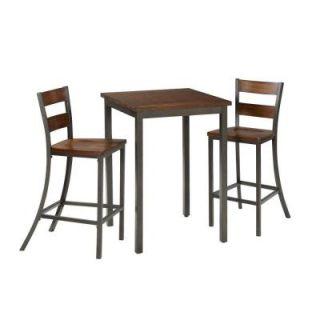 Cabin Creek Wood 3 Piece Bistro Table Set 5411 359