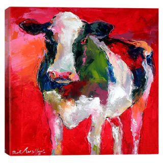 iCanvas Cow by Richard Wallich Graphic Art on Wrapped Canvas