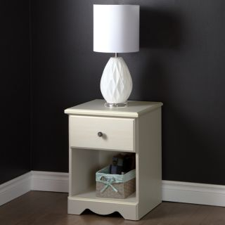South Shore Country Poetry 1 Drawer Night Stand   17479665
