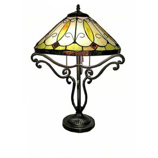 World Menagerie Mohammed 28.5 H Table Lamp with Empire Shade