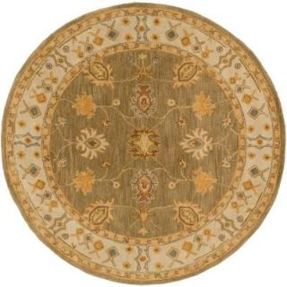 Artistic Weavers Middleton Willow Moss 6 ft. x 6 ft. Round Indoor Area Rug AWHR2049 6RD