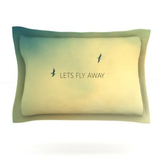 KESS InHouse Lets Fly Away by Richard Casillas Featherweight Pillow