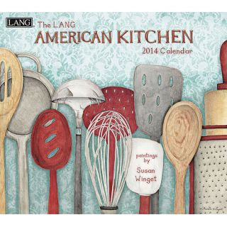 Lang American Kitchen 2014 Wall Calendar