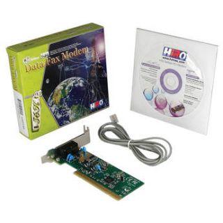 Hiro V92 56K Internal Low Profile PCI Data Fax Voice Dial H50158