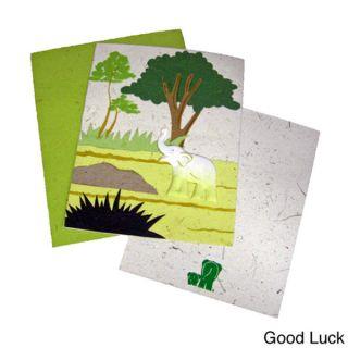 Mr. Ellie Pooh Hand crafted Designer Card (Sri Lanka)