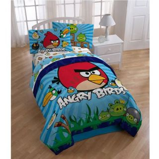 Angry Birds Bedding Sheet Set