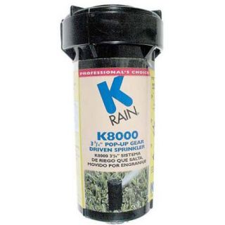 K Rain 81031 K8000 3 3/4 in Pop Up Gear Drive Sprinkler