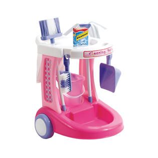 Just Kidz My Cleaning Trolley   Toys & Games   Pretend Play & Dress Up