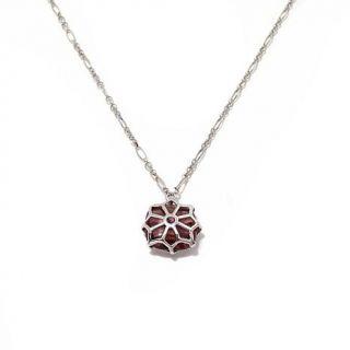 """La dea Bendata """"Finestra"""" Murano Glass Sterling Silver 18 1/2"""" Necklace   7927912"""