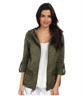 Only Shannon Lace Parka Ivy Green
