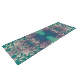Ashby Blossom by Nina May Yoga Mat by KESS InHouse