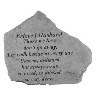 Kay Berry  Inc. 15520 Beloved Husband Those We Love   Memorial   6.875 Inches x 5.5 Inches