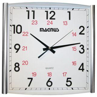 Dainolite Magnus Rectangle Sweep Movement Clock   18997174
