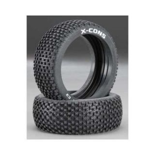 Duratrax X Cons 1/8 Buggy Tire C3 (2) Multi Colored