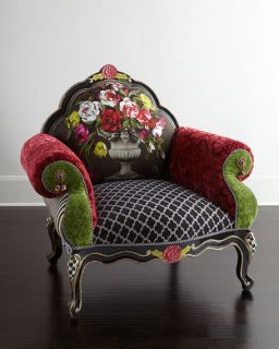 MacKenzie Childs Botanica Chair