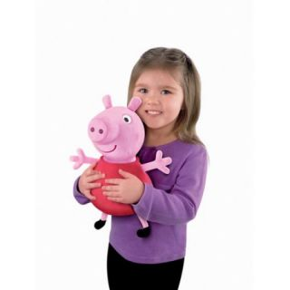 Fisher Price Peppa Pig Hug 'n Oink Peppa Talking Plush