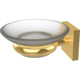 Allied Brass MT 62 UNL Montero Unlacquered Brass  Soap Holders Bathroom Accessories