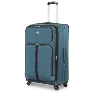 Global Traveler Spinner Luggage Shannon Falls Collection   Teal (28