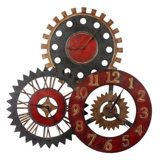 Uttermost 06762 Rusty Movements Wall Clock